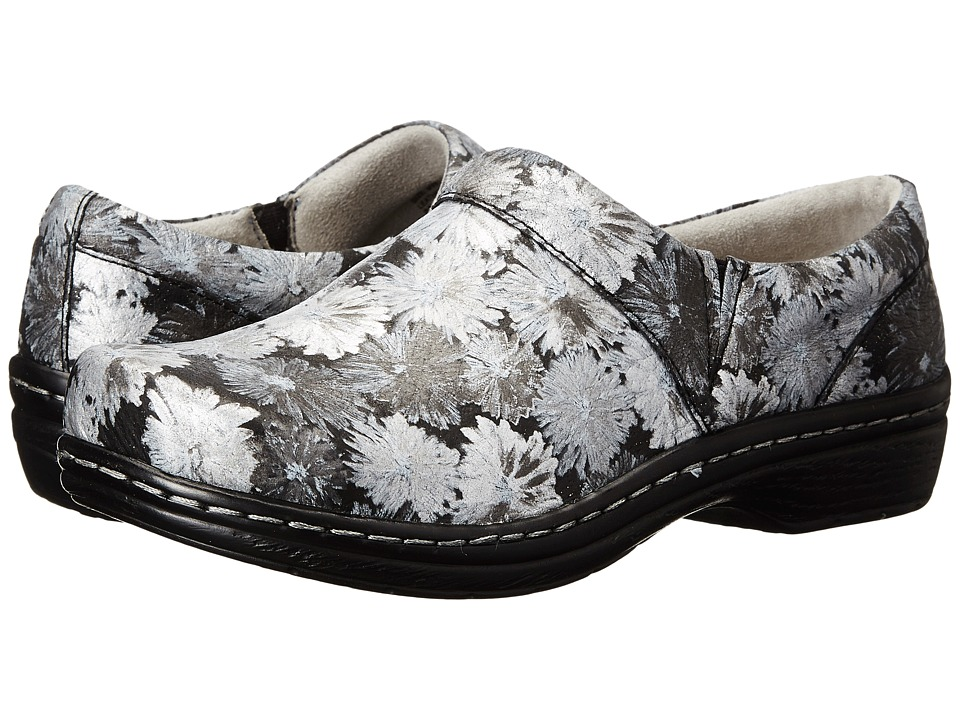 Klogs Footwear - Mission (Silver Daisy) Women's Clog Shoes
