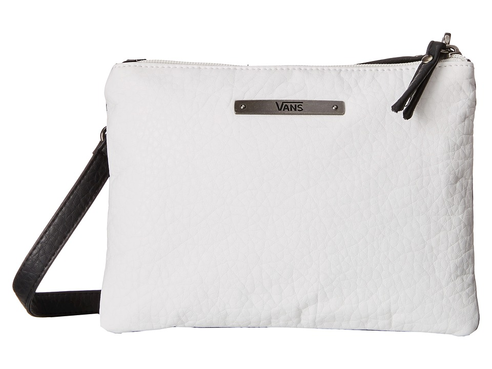 Vans - Sun Kisser Crossbody Small Bag (White/Black) Cross Body Handbags