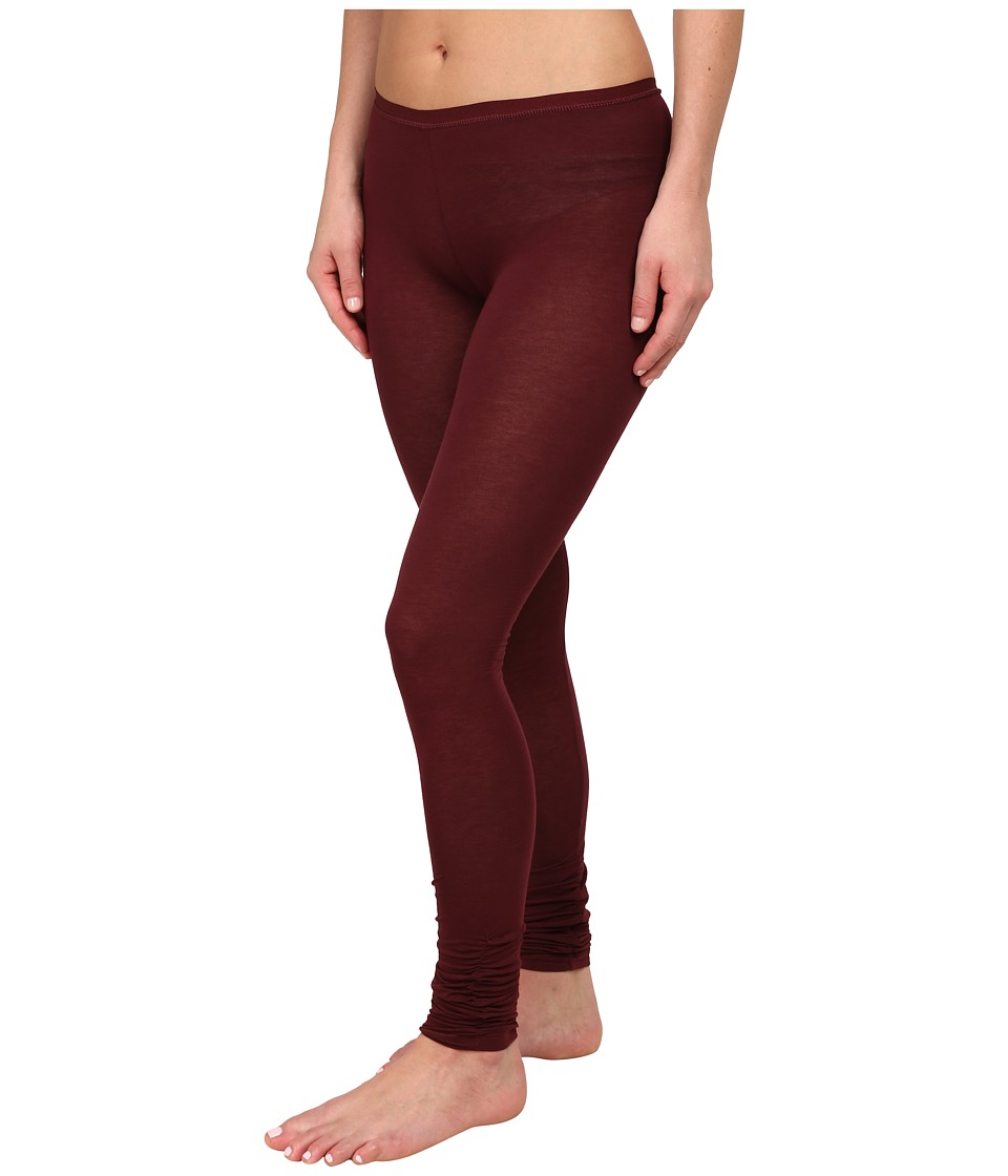 Free People - Sensual Jersey Leggings (Merlot) Women's Casual Pants