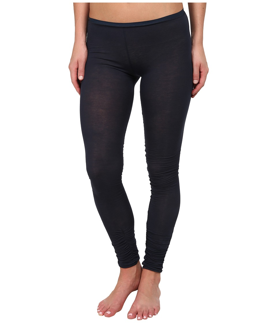 Free People - Sensual Jersey Leggings (Charcoal Blue) Women