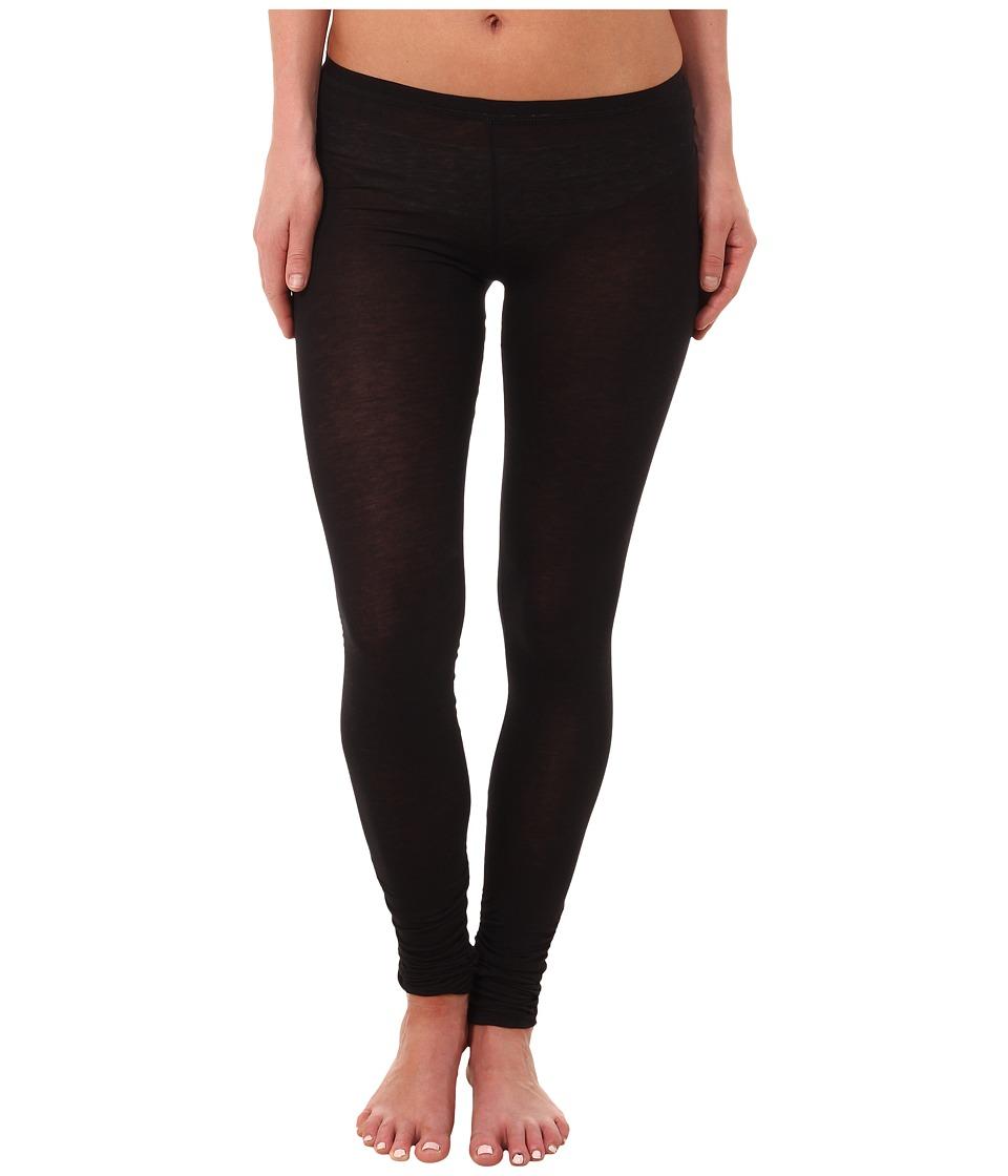Free People - Sensual Jersey Leggings (Black) Women
