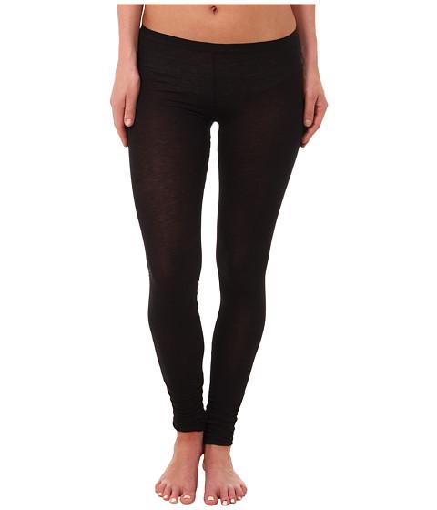 Free People - Sensual Jersey Leggings (Black) Women's Casual Pants