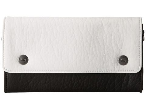 Vans - Sun Kiss Chain Wallet (White/Black) Wallet Handbags