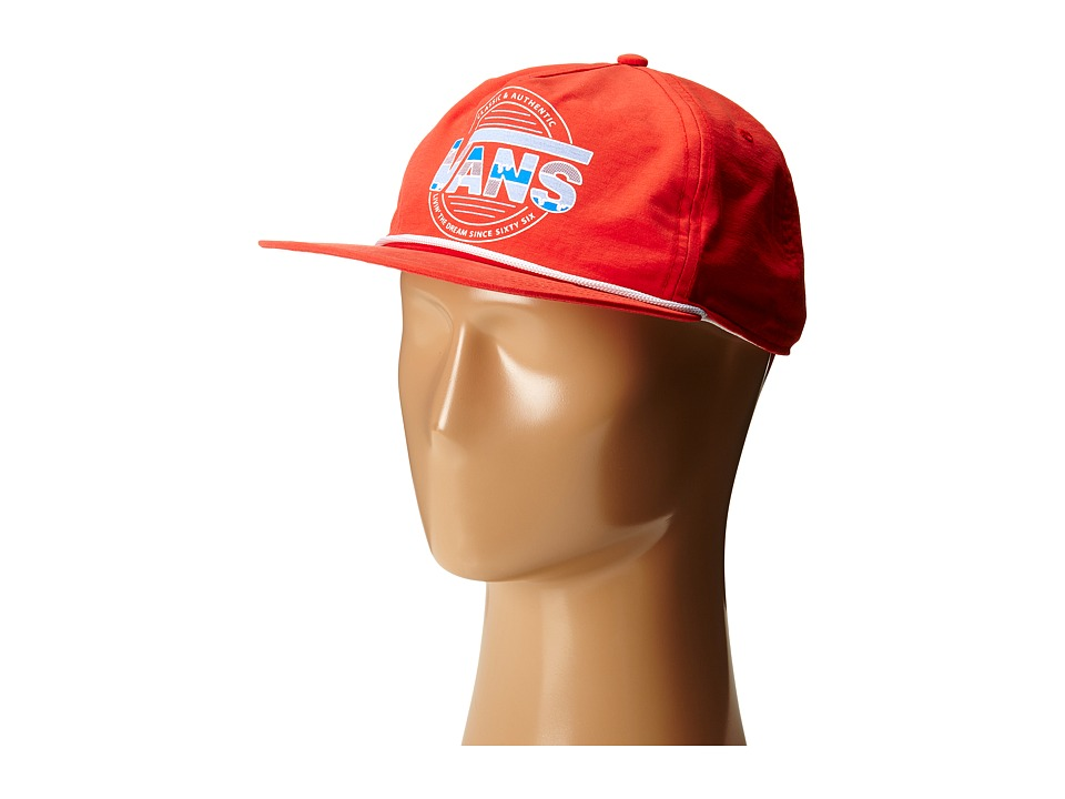 Vans - Snap To It Trucker (Crimson) Caps