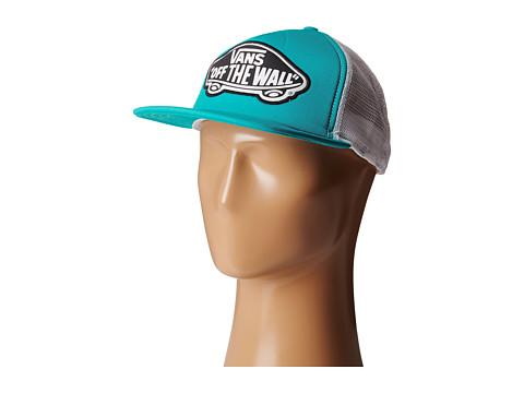 Vans - Beach Girl Trucker Hat (Blue Curac) Caps