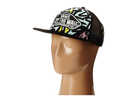 Vans - Beach Girl Trucker Hat (Blue Glow) Caps