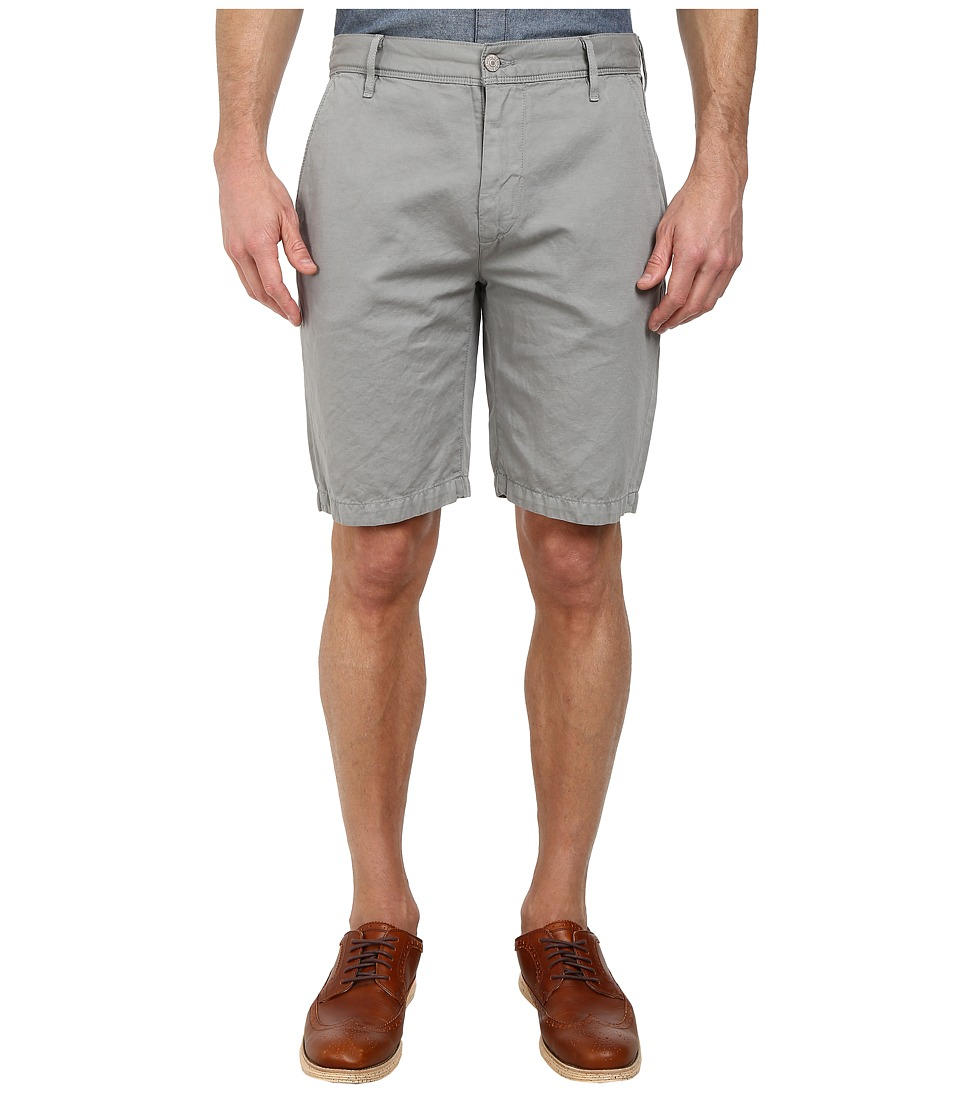 7 For All Mankind Chino Shorts (Light Grey) Men