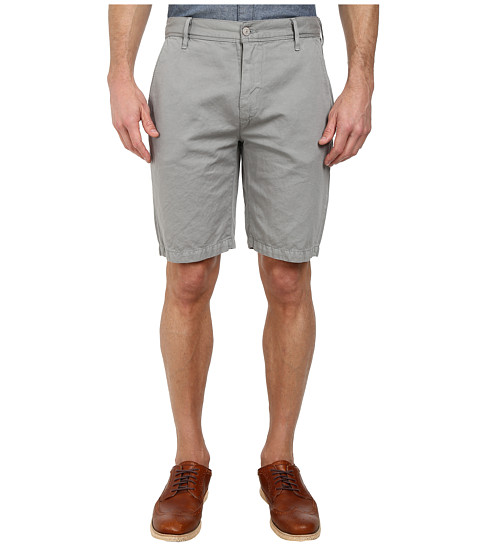 7 For All Mankind - Chino Shorts (Light Grey) Men's Shorts