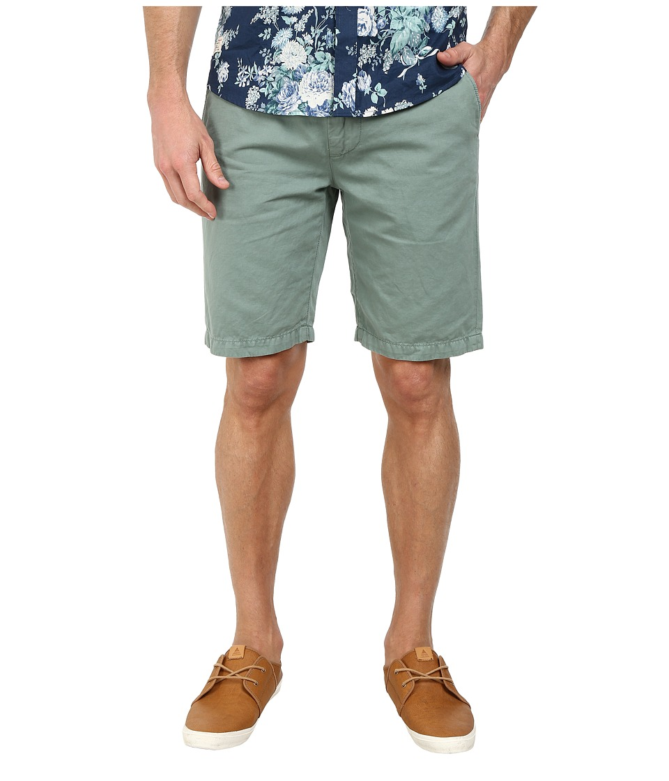 7 For All Mankind - Chino Shorts (Spearmint) Men's Shorts