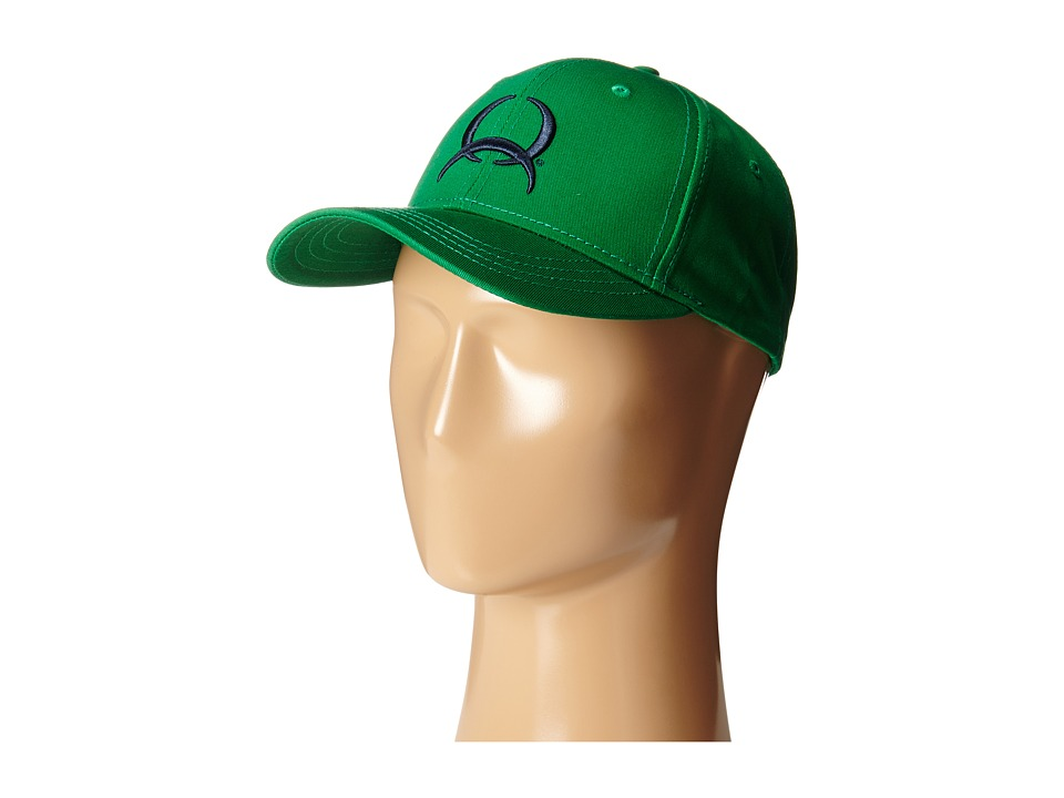 Cinch - Low Profile Flat Bill Cap (Green) Caps