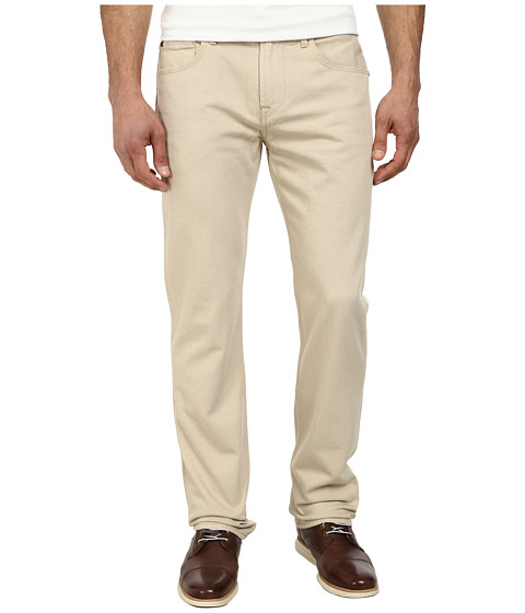 7 For All Mankind - Standard Straight Leg w/ Split Seam Pocket in Biscotti (Biscotti) Men