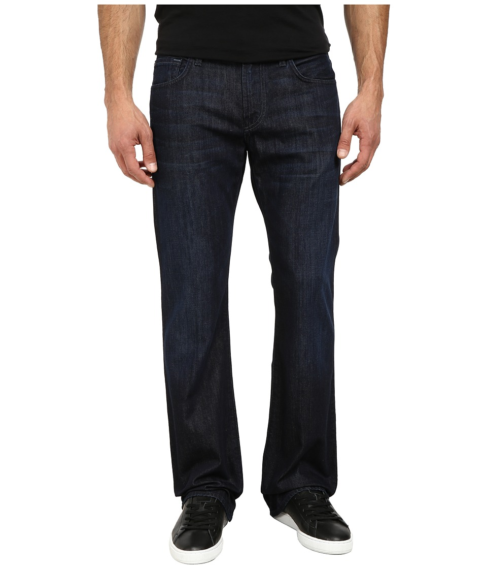 7 For All Mankind - Brett Modern Bootcut A Pocket in Blue Spur (Blue Sur) Men