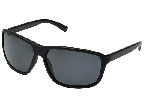 AX Armani Exchange - 0AX4033 (Matte Black Grey Polarized) Fashion Sunglasses
