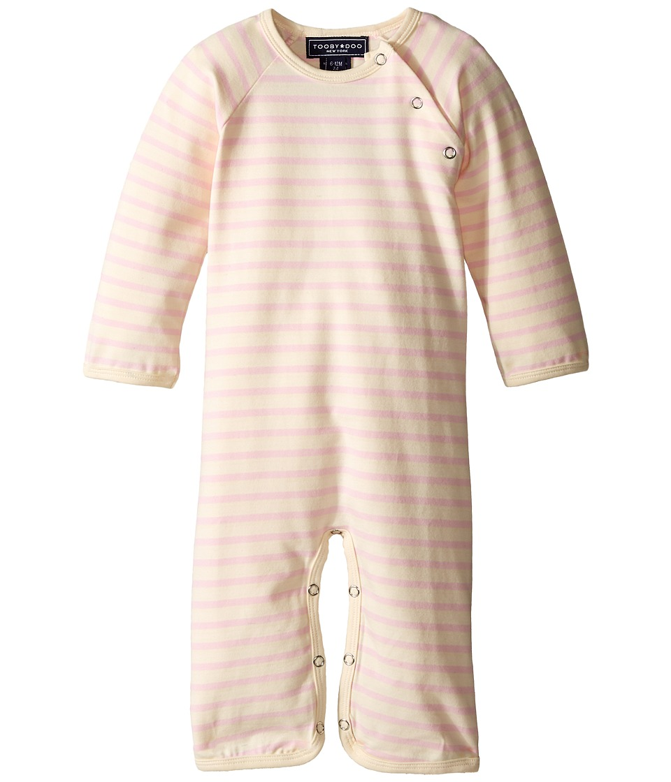 Toobydoo - Chelsea Jumpsuit (Infant) (Pink) Girl's Jumpsuit & Rompers One Piece