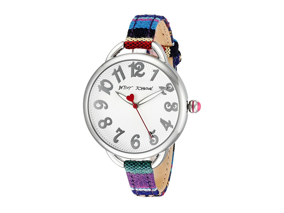 Betsey Johnson - BJ00067-29 (Silver) Watches