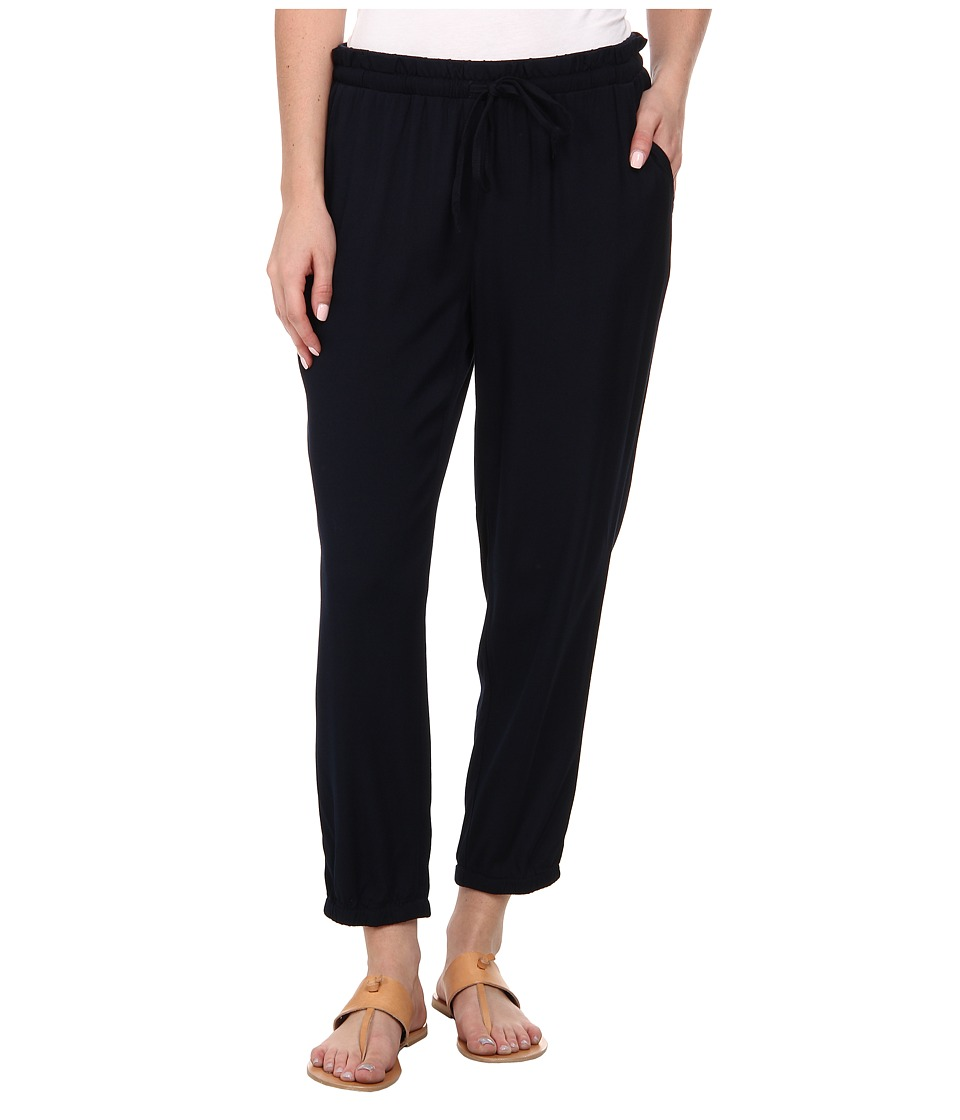 Jones New York - Drawstring Waist Capri Pants (Navy) Women's Casual Pants