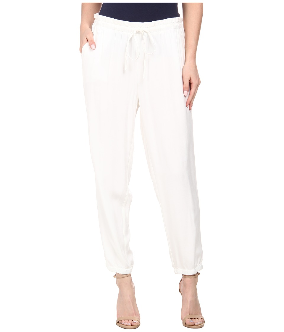 Jones New York - Drawstring Waist Capri Pants (J White) Women's Casual Pants