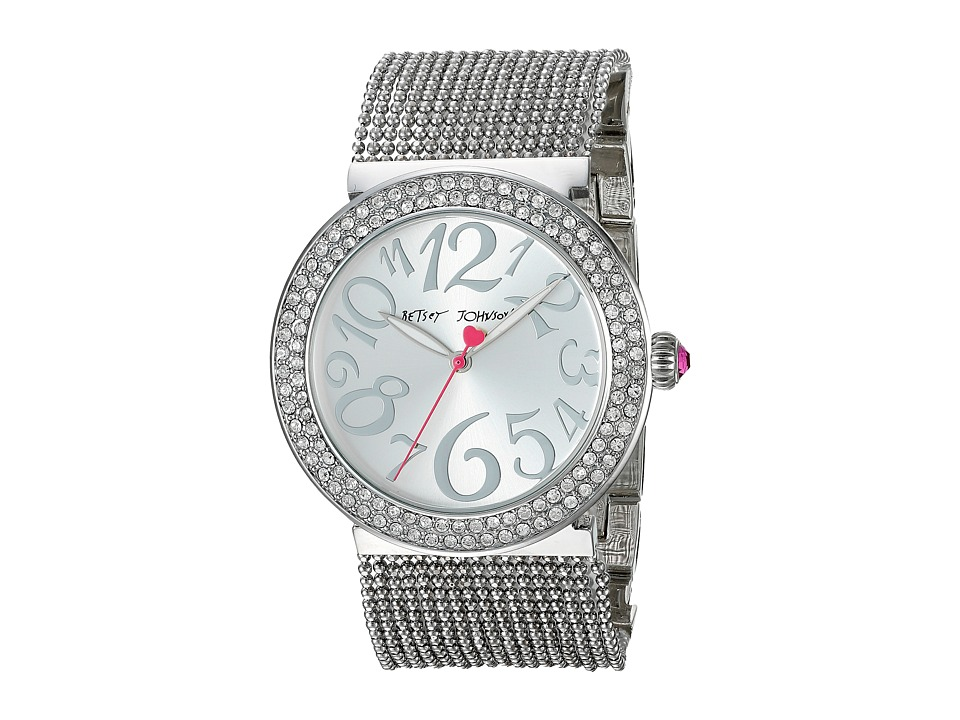 Betsey Johnson - BJ00497-01 (Silver) Watches
