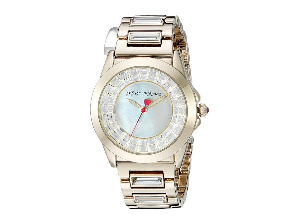 Betsey Johnson - BJ00464-02 (Gold) Watches