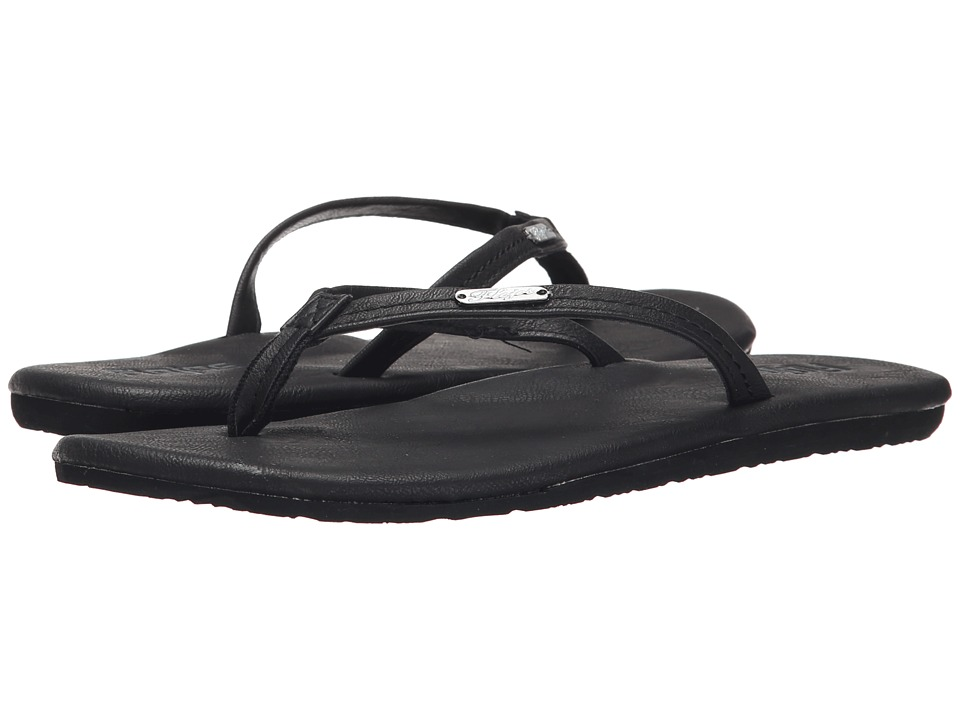 Flojos - Corey (Black) Women's Sandals