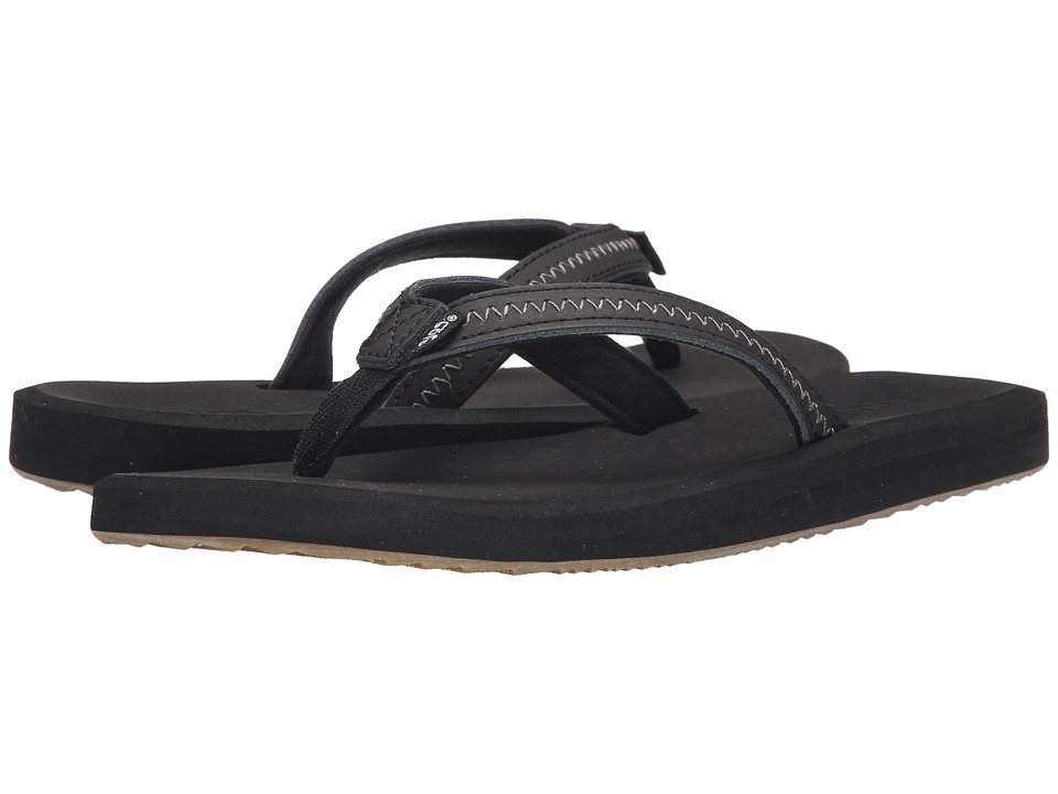 Flojos - Ella (Black) Women's Sandals