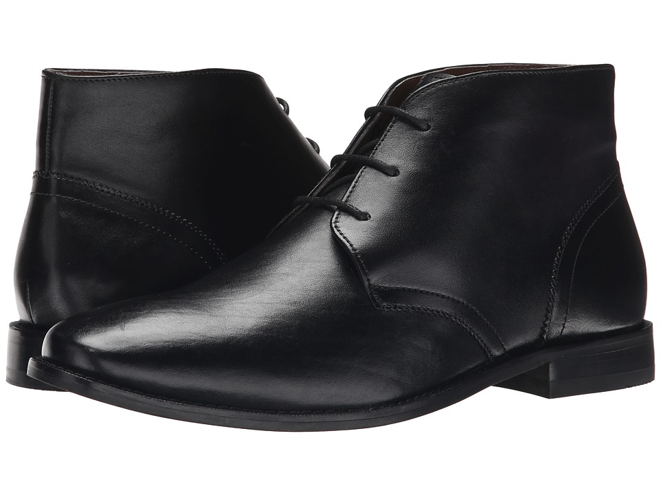 Florsheim Montinaro Chukka Boot (Black Smooth) Men