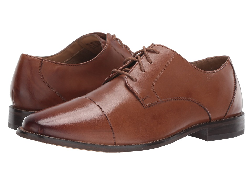 Florsheim - Montinaro Cap Toe Oxford (Saddle Tan Smooth) Men