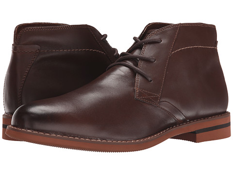 Florsheim - Dusk Chukka Boot (Brown Smooth) Men's Boots