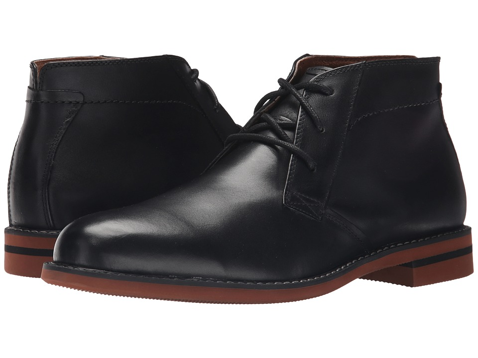Florsheim Dusk Chukka Boot (Black Smooth) Men