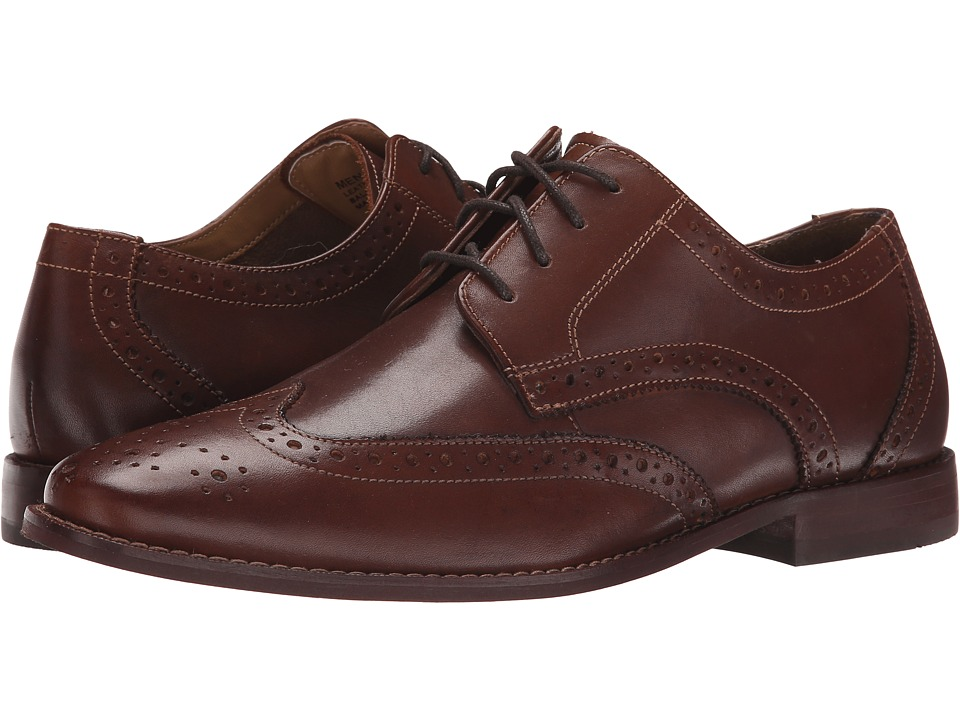 Florsheim - Montinaro Wingtip Oxford (Brown Smooth) Men's Lace Up Wing Tip Shoes