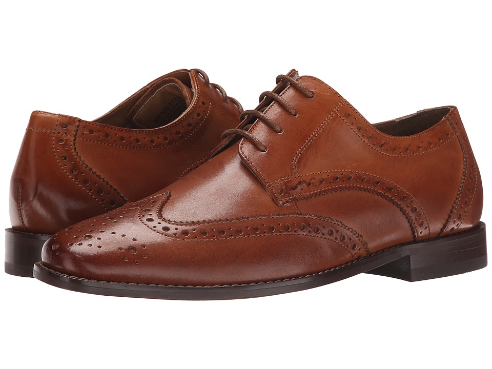 Florsheim - Montinaro Wingtip Oxford (Saddle Tan Smooth) Men