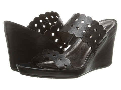 Kenneth Cole Unlisted - Webtastic (Black Dipping PU) Women's Shoes