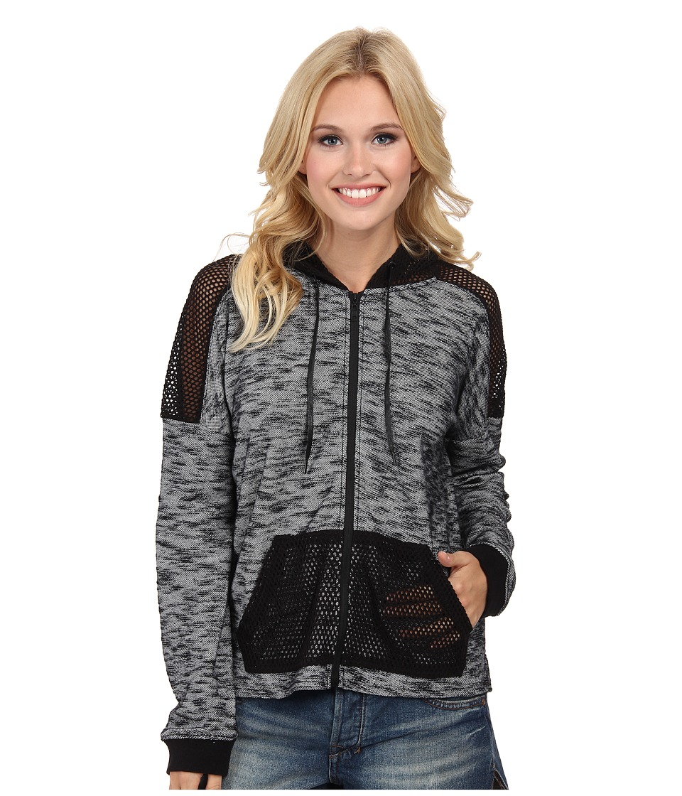 Hurley - Kara Zip Fleece (Black) Women