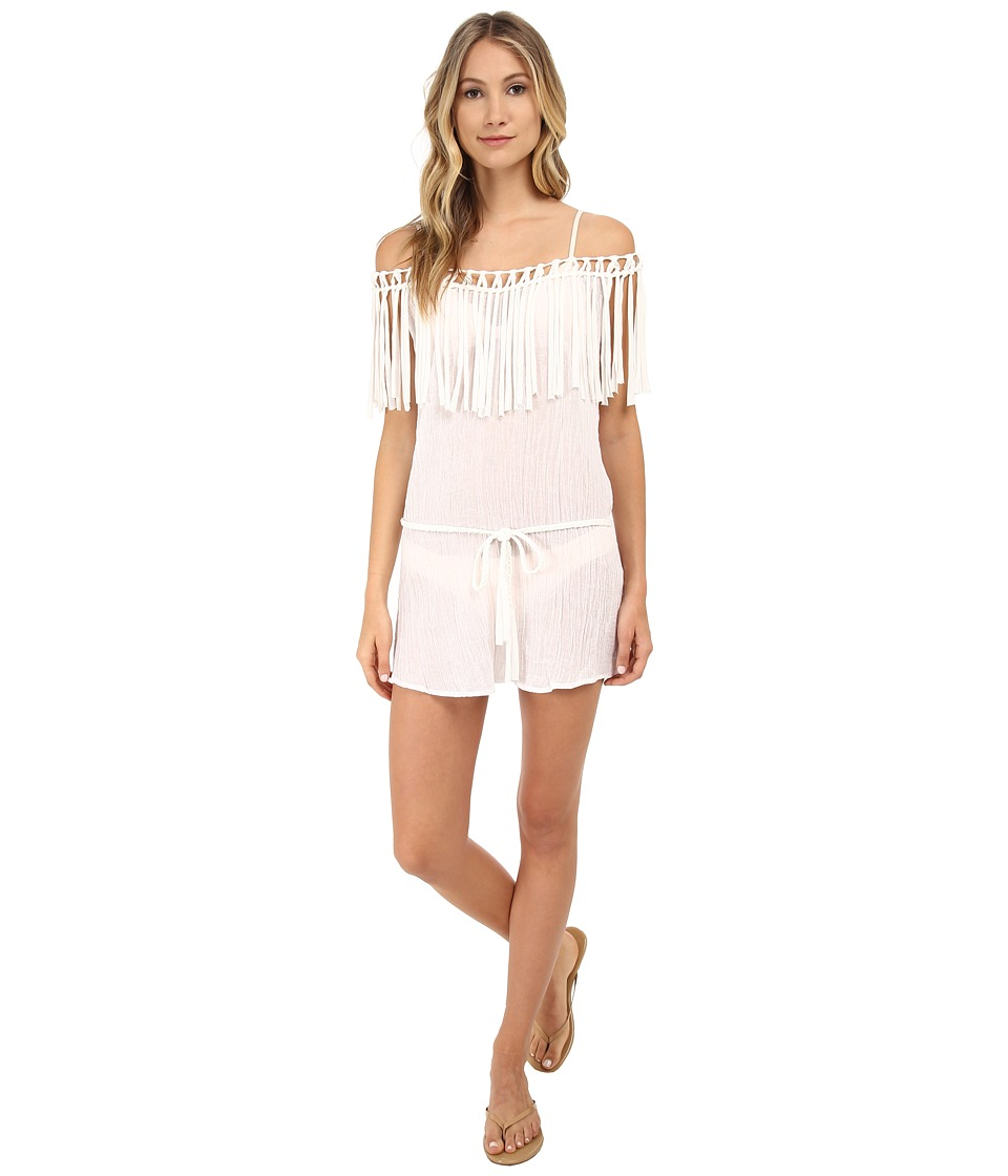 Eberjey - Ship Wrecked Rania Cover-Up (White) Women
