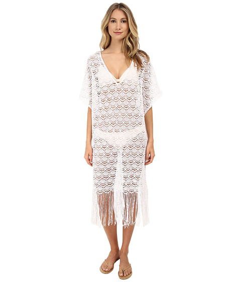Eberjey - Bohemian Bride Freya Cover-Up (White) Women's Swimwear