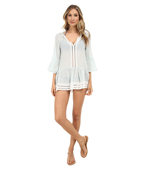 Eberjey - Love Shack Tessa Cover-Up (Mint Haze) Women's Swimwear