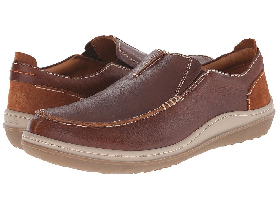 Clarks - Gait Easy (Tan Leather) Men