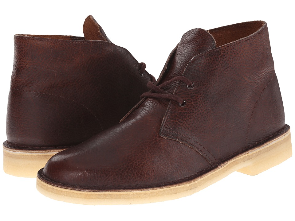 Clarks - Desert Boot (Rust Leather) Men
