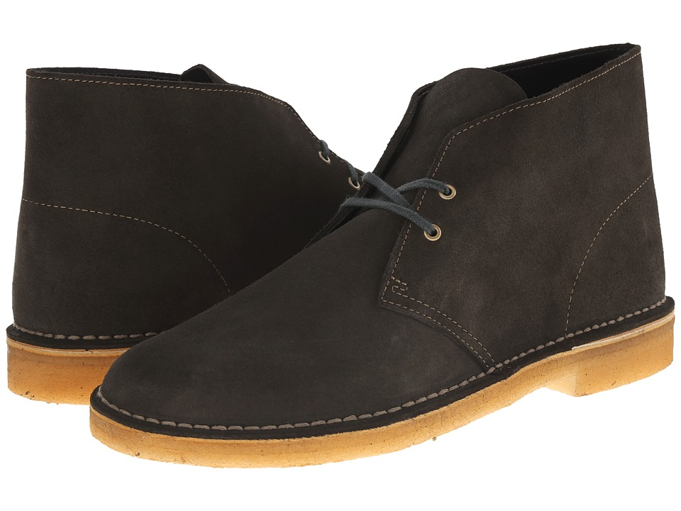 Clarks - Desert Boot (Loden Green Suede) Men