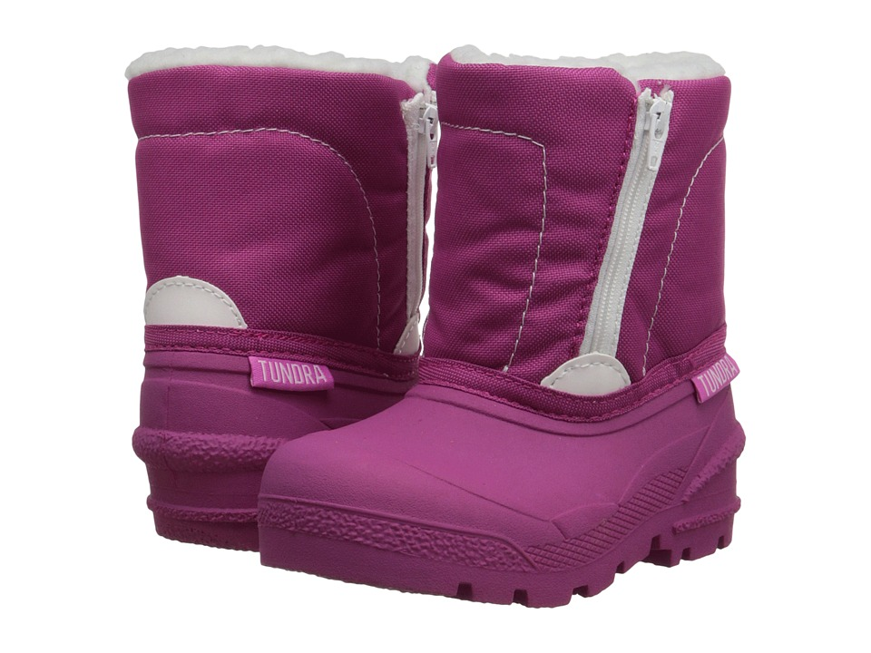 Tundra Boots Kids - Lucky 5 (Toddler) (Pink Stars) Girls Shoes