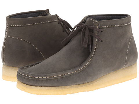 Clarks - Wallabee Boot (Dark Green Leather) Men
