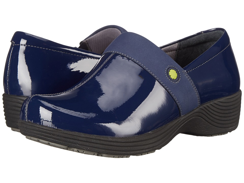 Work Wonders by Dansko - Camellia (Navy Patent) Women's Clog Shoes