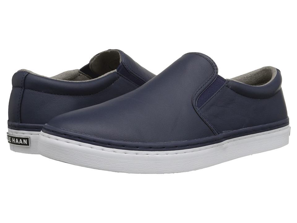 Cole Haan - Falmouth Slip-On (Blazer Blue) Men