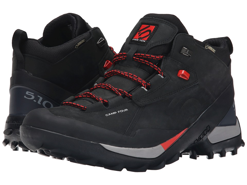 Five Ten - Camp Four Mid - GTX (Black/Red) Men's Shoes