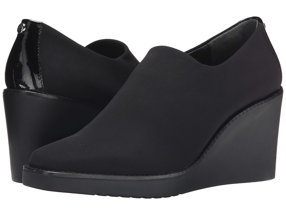 Donald J Pliner - Dayo (Black Crepe) Women's Wedge Shoes