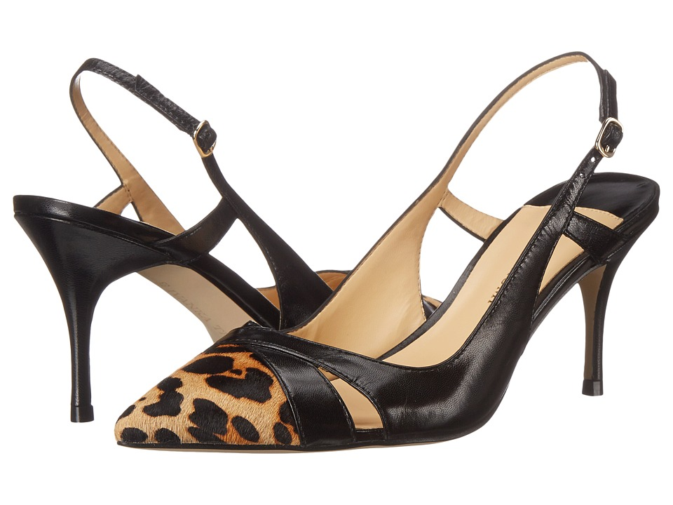 Ivanka Trump - Billaly (Black Suede/Animal Toe) High Heels