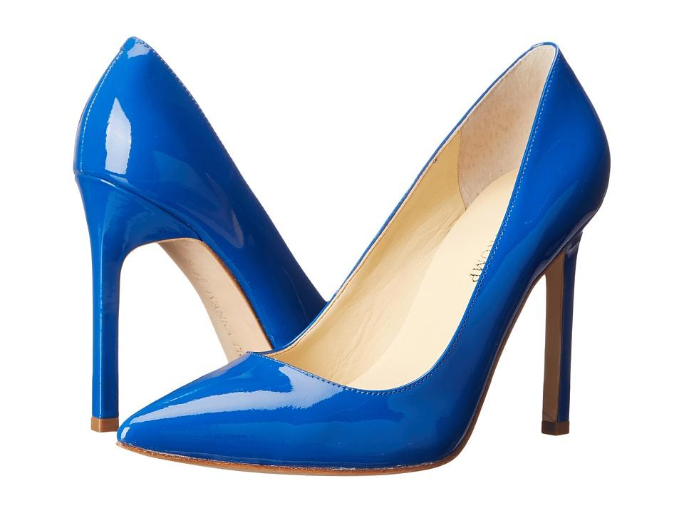 Ivanka Trump Carra (Bright Sapphire Patent) High Heels