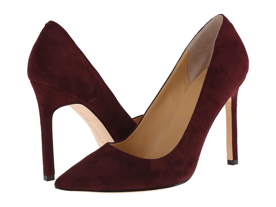 Ivanka Trump - Carra (Dark Wine Suede) High Heels