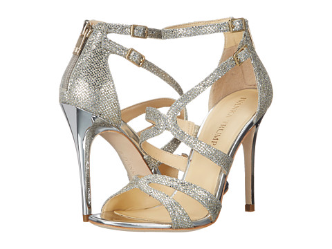 Ivanka Trump - Hotis2 (Gold/Silver) High Heels
