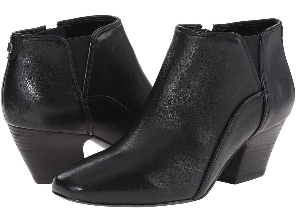 Ivanka Trump - Rumi (Black Leather) Women's Pull-on Boots